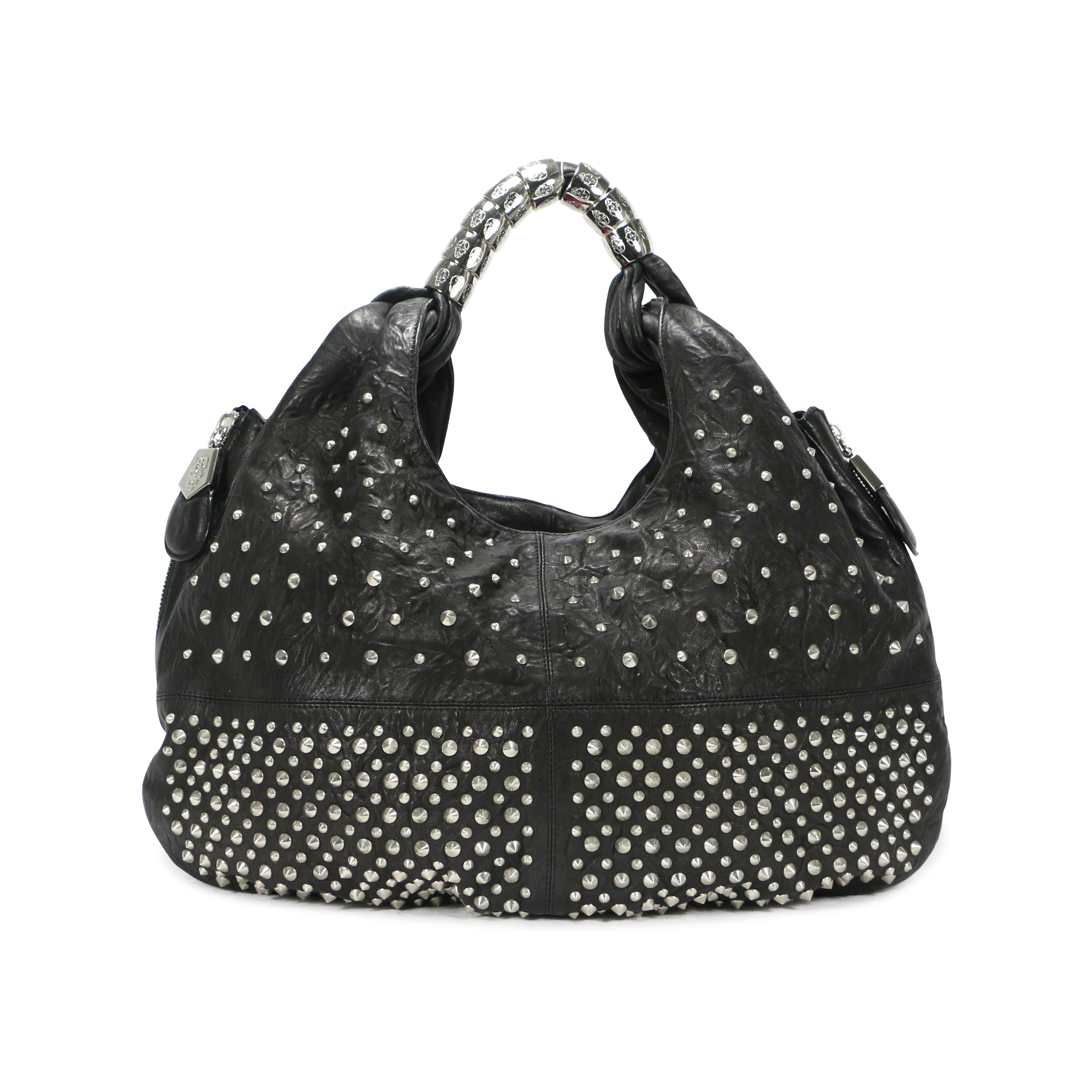 52f101c16137 Authentic Second Hand Thomas Wylde Studded Hobo bag (PSS-200-00304 ...