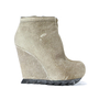 Authentic Second Hand Camilla Skovgaard Ponyhair Wedge Booties (PSS-088-00036) - Thumbnail 3