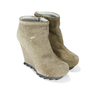 Authentic Second Hand Camilla Skovgaard Ponyhair Wedge Booties (PSS-088-00036) - Thumbnail 2