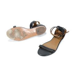 Aquazzura lace back sandals 2