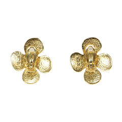 Yves saint laurent daisy earrings 2