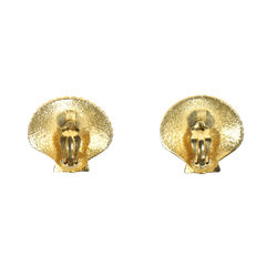 Yves saint laurent seashell earrings 2