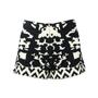 Cut 25 Intarsia Knitted Shorts - Thumbnail 0
