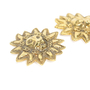Authentic Vintage Chanel Leo Sun Clip Earrings (TFC-203-00024) - Thumbnail 2