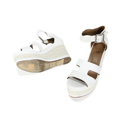 Hermes ilana espadrille wedge in patent leather and nappa calfskin 2