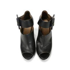 Peep Toe Platform Sandals
