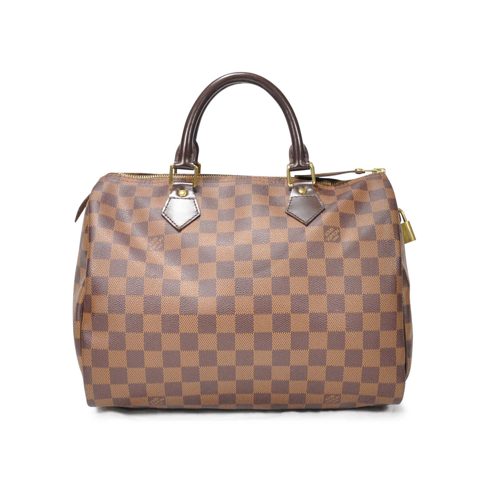 9ea977a8 Authentic Second Hand Louis Vuitton Damier Speedy 30 (PSS-274-00001 ...