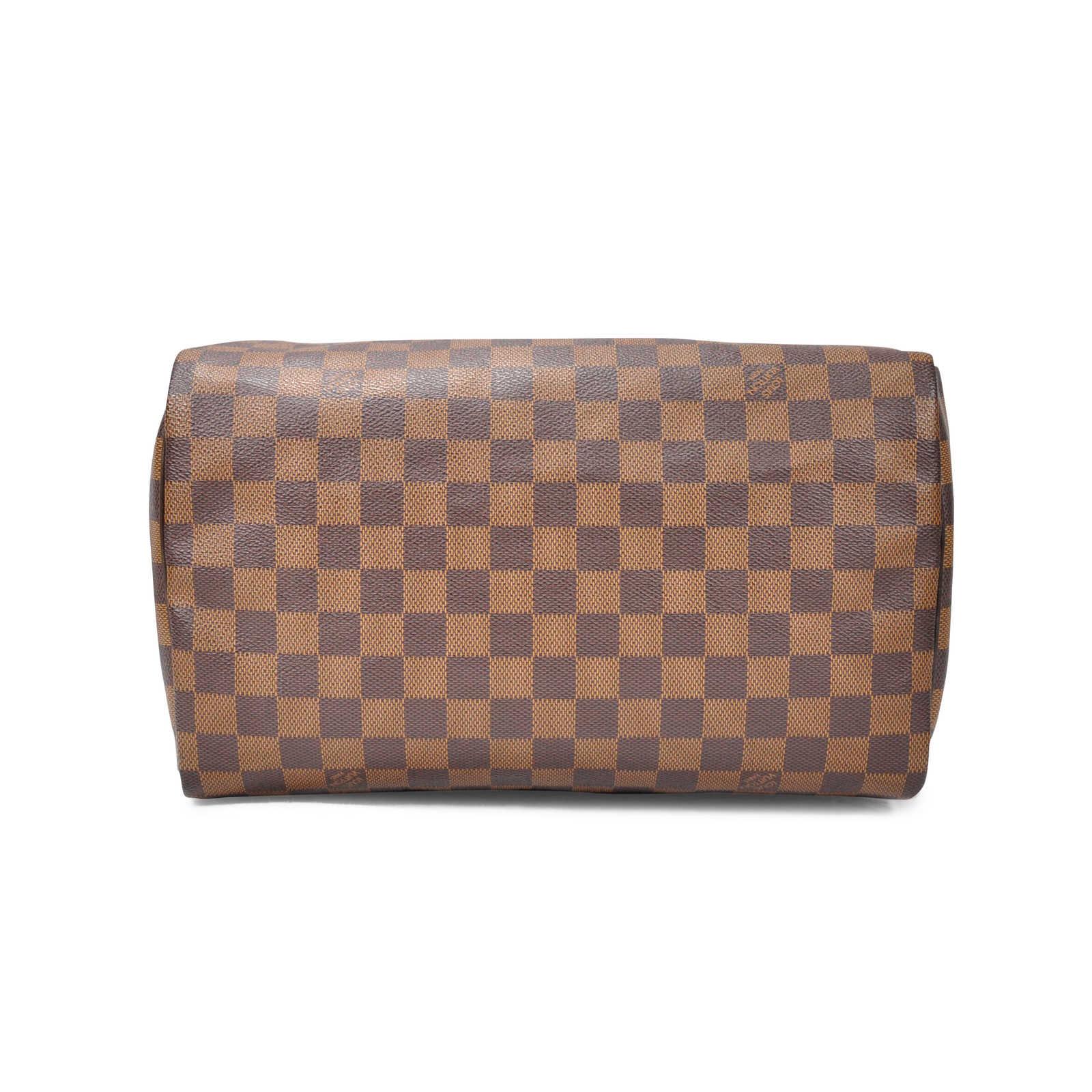 3304b243d9b0 ... Authentic Second Hand Louis Vuitton Damier Speedy 30 (PSS-274-00001) ...