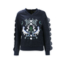 Authentic Second Hand Three Floor Rex Embellished Sweatshirt (PSS-088-00070) - Thumbnail 0