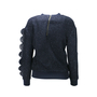 Authentic Second Hand Three Floor Rex Embellished Sweatshirt (PSS-088-00070) - Thumbnail 1