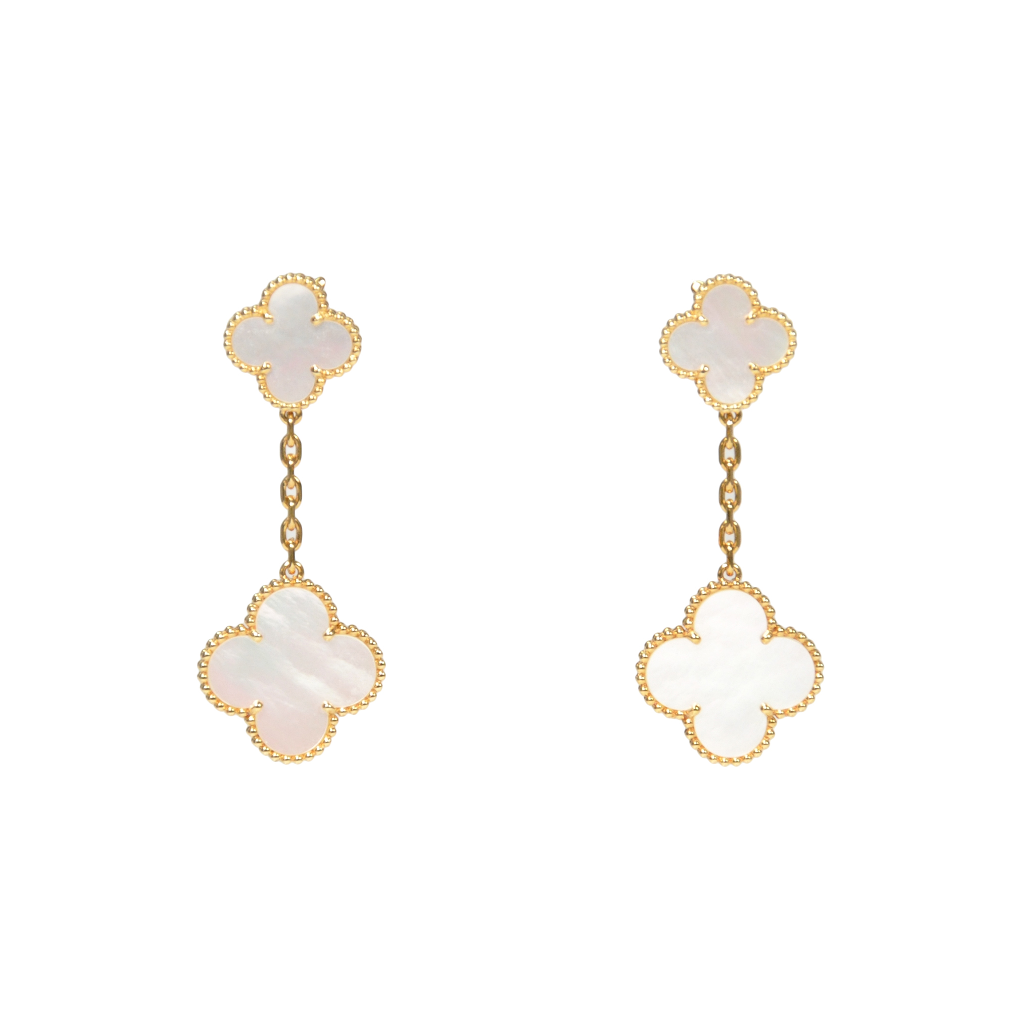 Authentic Pre Owned Van Cleef And Arpels Magic Alhambra Earrings Pss 246 00111 The Fifth Collection