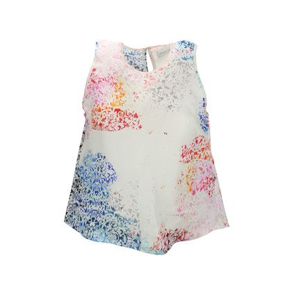 Authentic Second Hand Tanya Taylor Printed Trapeze Tank (PSS-193-00045)