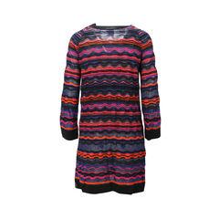 Missoni wavy striped knit dress 2