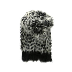 Yigal azrouel raccoon fur hooded vest 2
