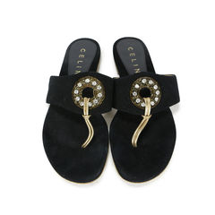 Crystal Embellished Slippers