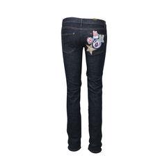 Mcq alexander mcqueen clown applique jeans 2