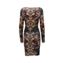 Alexander Mcqueen Stained Glass Jersey Stretch Dress - Thumbnail 1