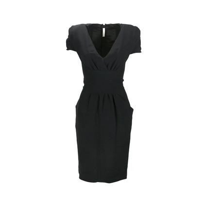 Authentic Second Hand Prada Waist Panel Sheath Dress (PSS-093-00011)