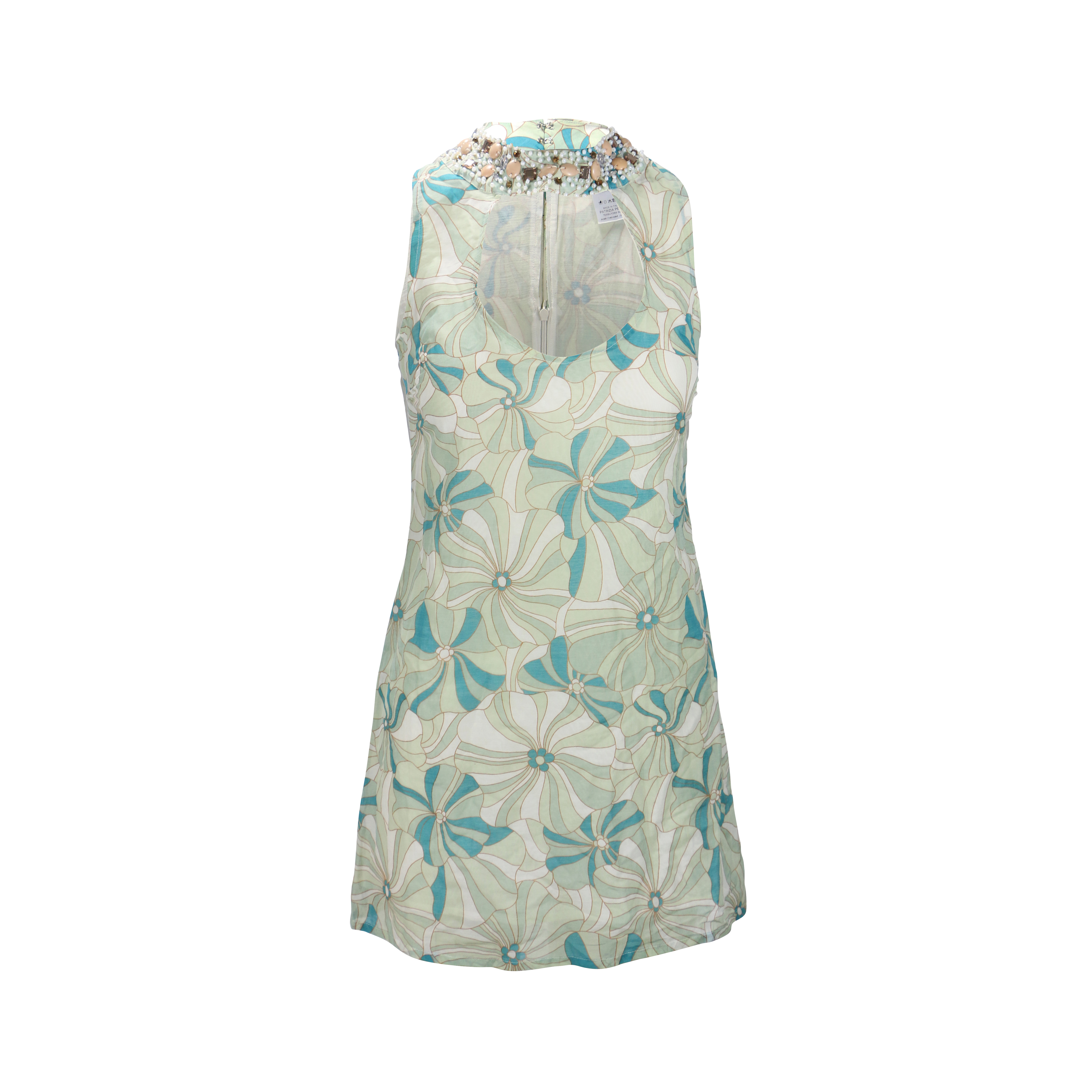 4cc314b25d Authentic Second Hand Patrizia Pepe Floral Cut Out Dress (PSS-262-00010) -  THE FIFTH COLLECTION