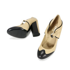 Chanel spectator mary jane runway pumps 2