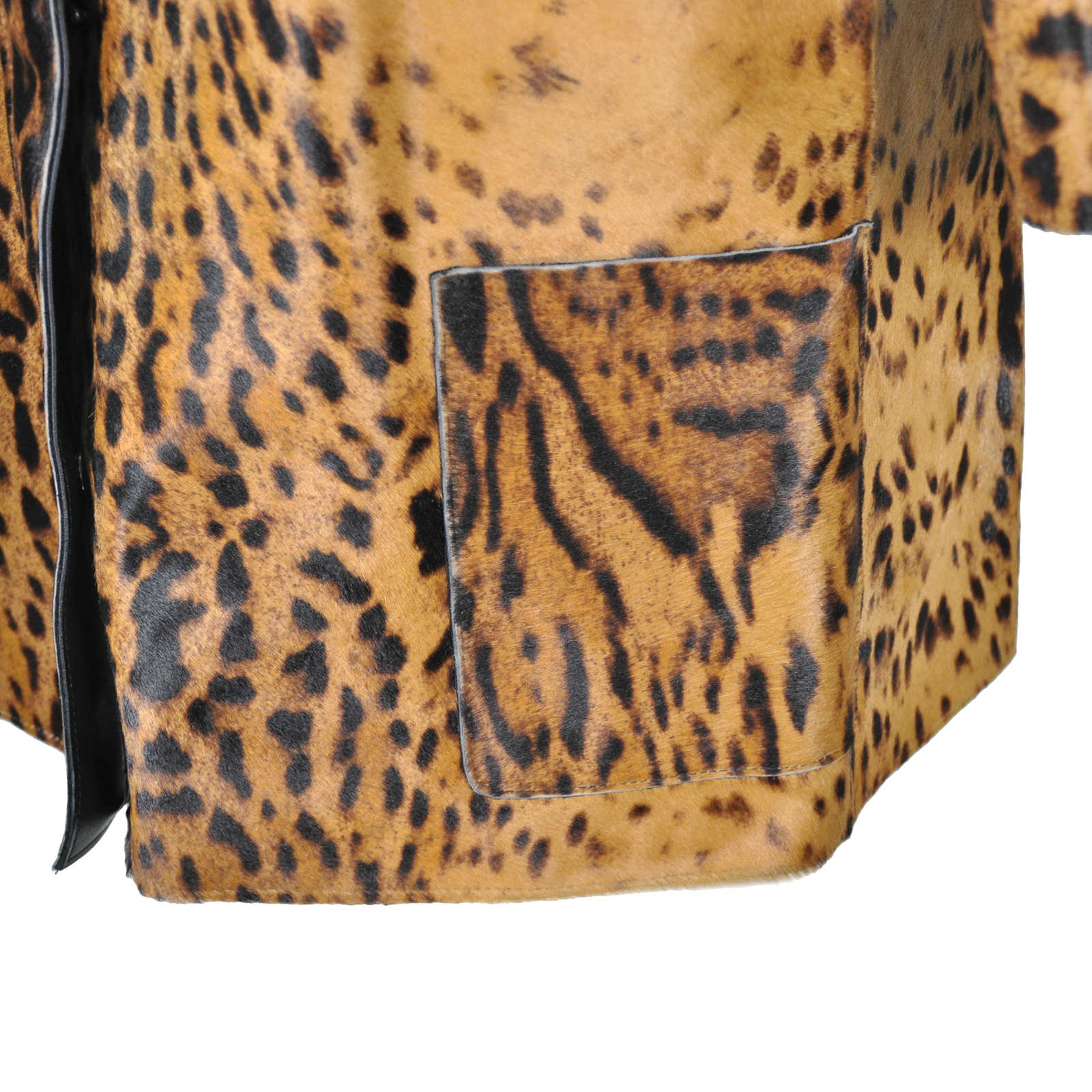... Authentic Second Hand Lanvin Leopard Print Calf Hair Coat  (PSS-051-00044) ... a91c5ae28