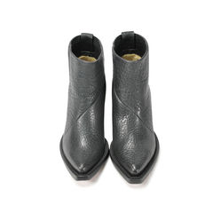 Donna Leather Ankle Boots