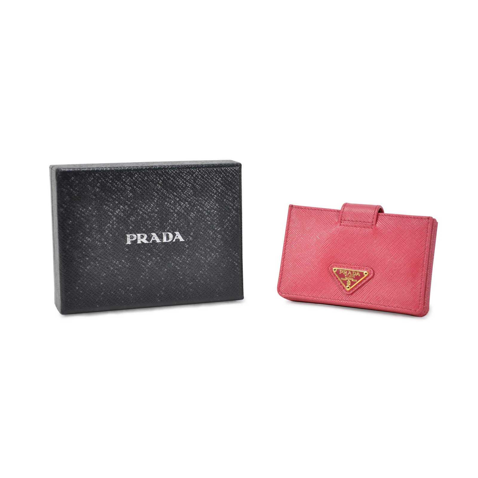 second hand prada business card holder the fifth collection. Black Bedroom Furniture Sets. Home Design Ideas
