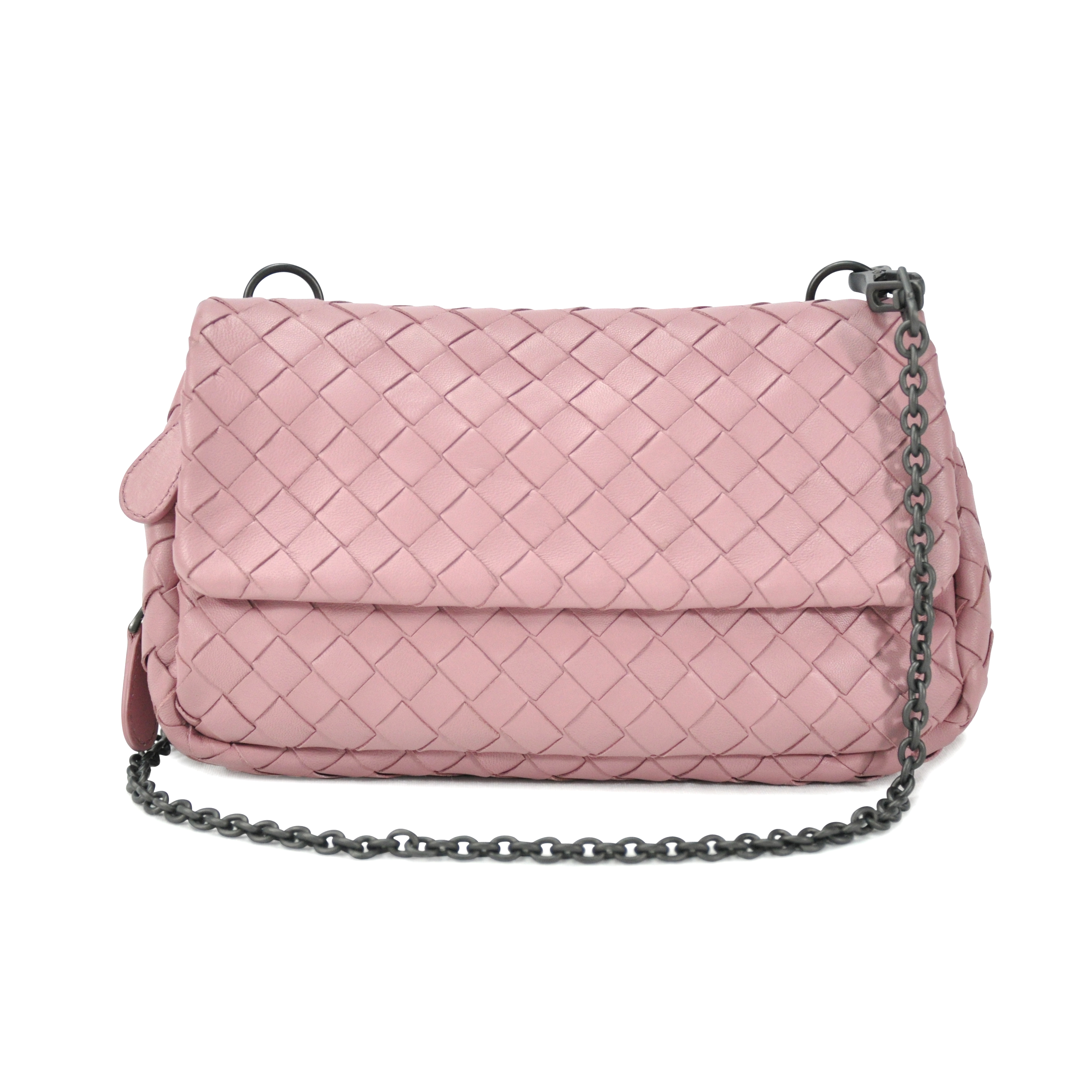 b73230eb975f Authentic Pre Owned Bottega Veneta Intrecciato Mini Crossbody Bag  (PSS-072-00014)