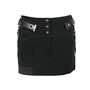 Authentic Second Hand Anthony Vaccarello Metal Yokes Mini Skirt (PSS-200-00076) - Thumbnail 0