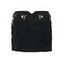 Authentic Second Hand Anthony Vaccarello Metal Yokes Mini Skirt (PSS-200-00076) - Thumbnail 1