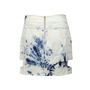 Authentic Second Hand Anthony Vaccarello Acid Washed Cutout Skirt (PSS-200-00089) - Thumbnail 1