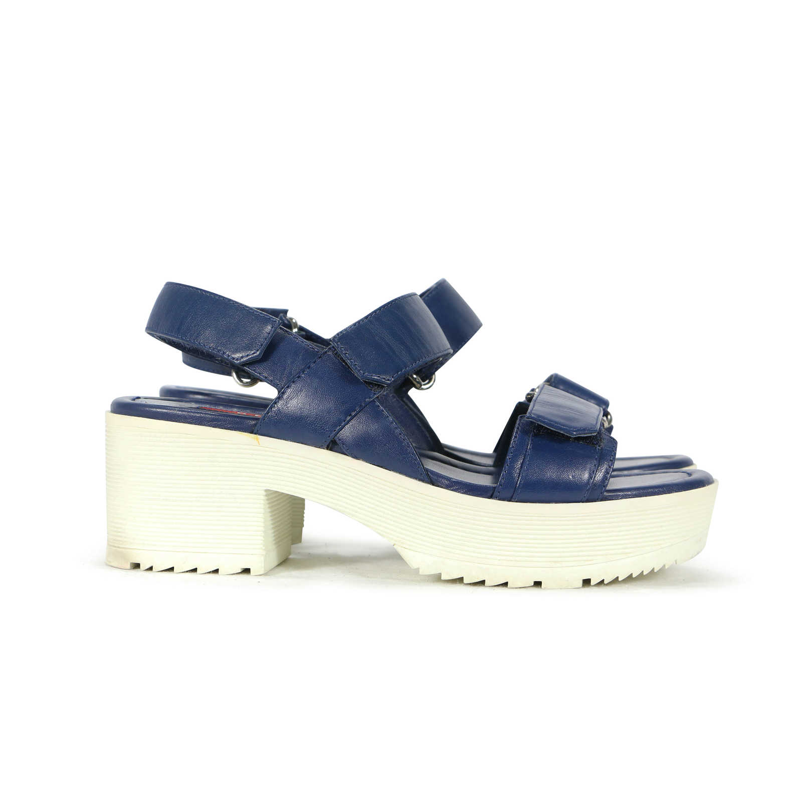 Prada Platform Velcro Sandals 5Y7mU