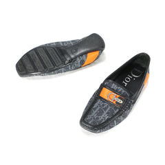 Christian dior monogram canvas loafers 2