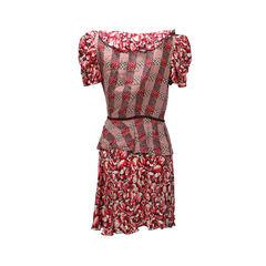 Anna sui ruffle wrap dress 2