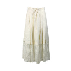 Crochet Bottom Long Skirt