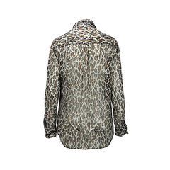 Equipment leopard print blouse 2