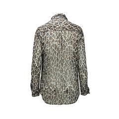 Equipment leopard print blouse 2