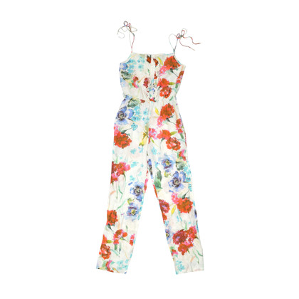 Authentic Second Hand Paul & Joe Floral Jumpsuit (PSS-270-00008)