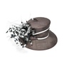 Authentic Second Hand Nigel Rayment Feather Brimmed Hat (PSS-246-00113) - Thumbnail 3