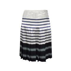 Prada striped pleated skirt 2