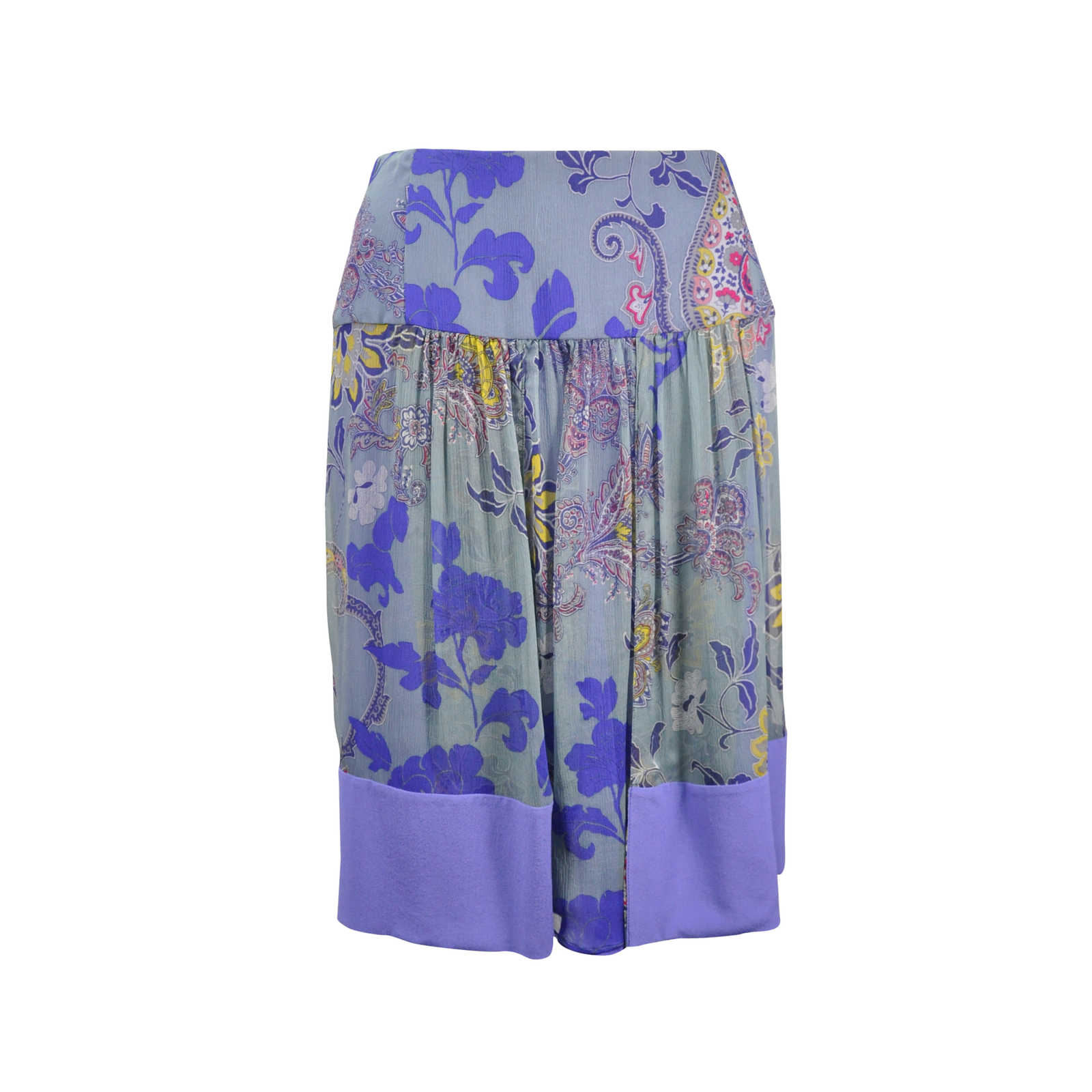 dca3645334 Authentic Second Hand Etro Floral Paisley Skirt (PSS-246-00244) - Thumbnail  ...