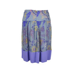 Etro floral paisley skirt 2