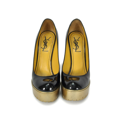 Authentic Second Hand Yves Saint Laurent Trooper 105 Pumps (PSS-014-00033)