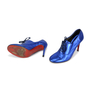 Christian Louboutin Miss Fred Tacco Lame - Thumbnail 1