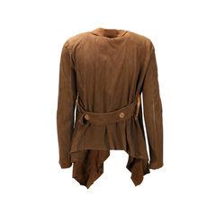 Isaac sellam experience suede drape jacket 2
