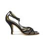 Authentic Second Hand Christian Lacroix Satin T-Front Sandals (PSS-034-00006) - Thumbnail 1