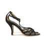 Authentic Second Hand Christian Lacroix Satin T-Front Sandals (PSS-034-00006) - Thumbnail 3