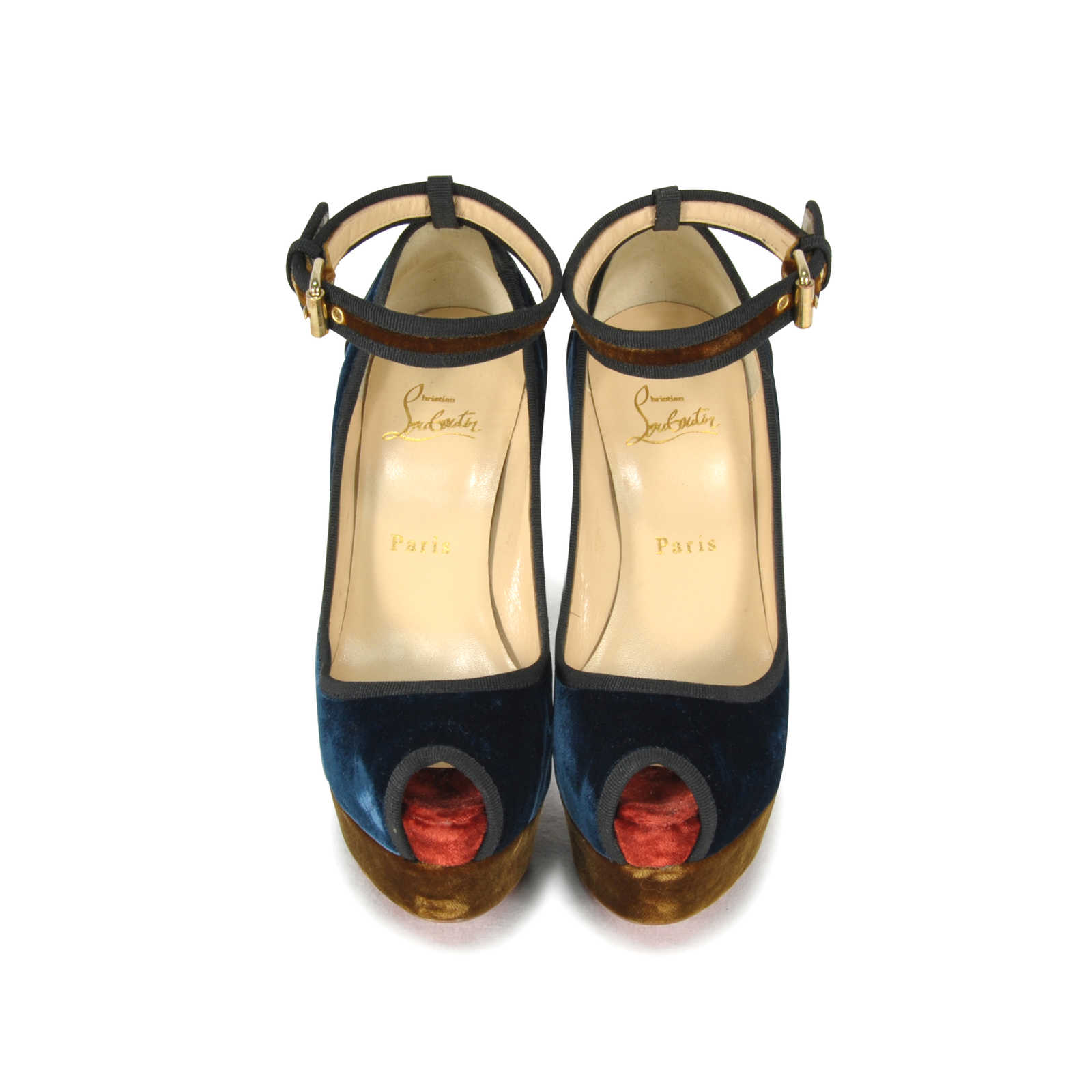 58ce668c715 Authentic Second Hand Christian Louboutin Minimi 140 Sandals  (PSS-034-00007) ...
