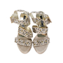 Authentic Second Hand Albano Embellished Strap Sandals (PSS-200-00264) - Thumbnail 0