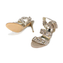 Authentic Second Hand Albano Embellished Strap Sandals (PSS-200-00264) - Thumbnail 3